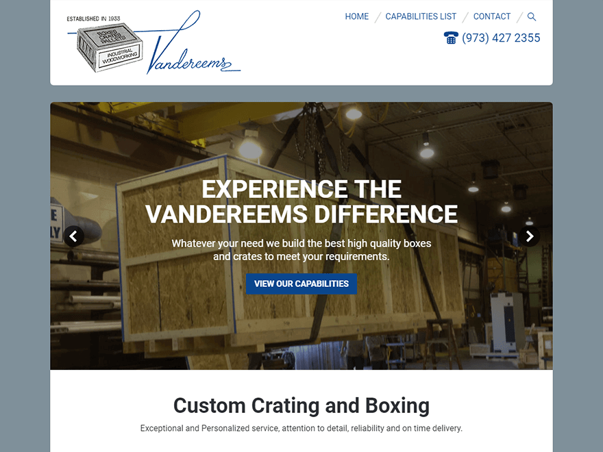 Vandereems Manufacturing Company